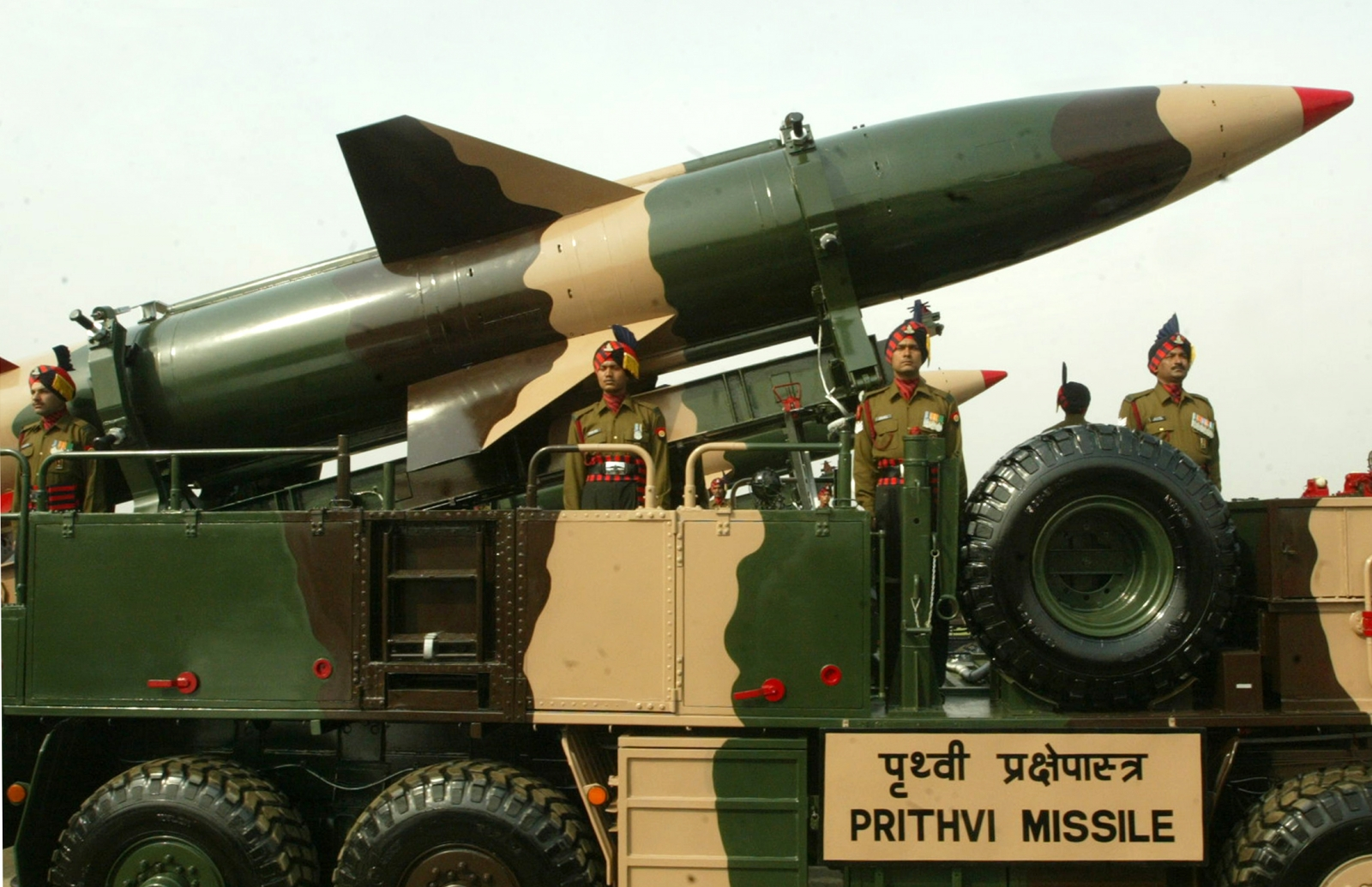 India ballistic missile launch