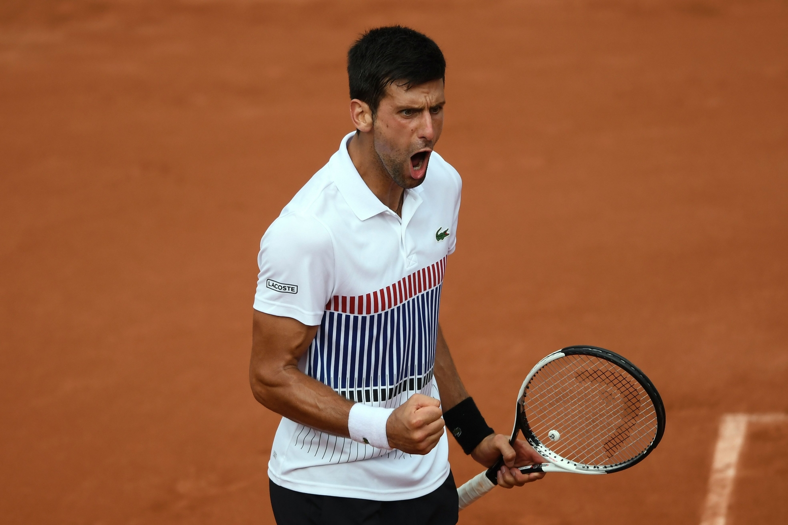 Djokovic escapes Schwartzman's clutches in five sets