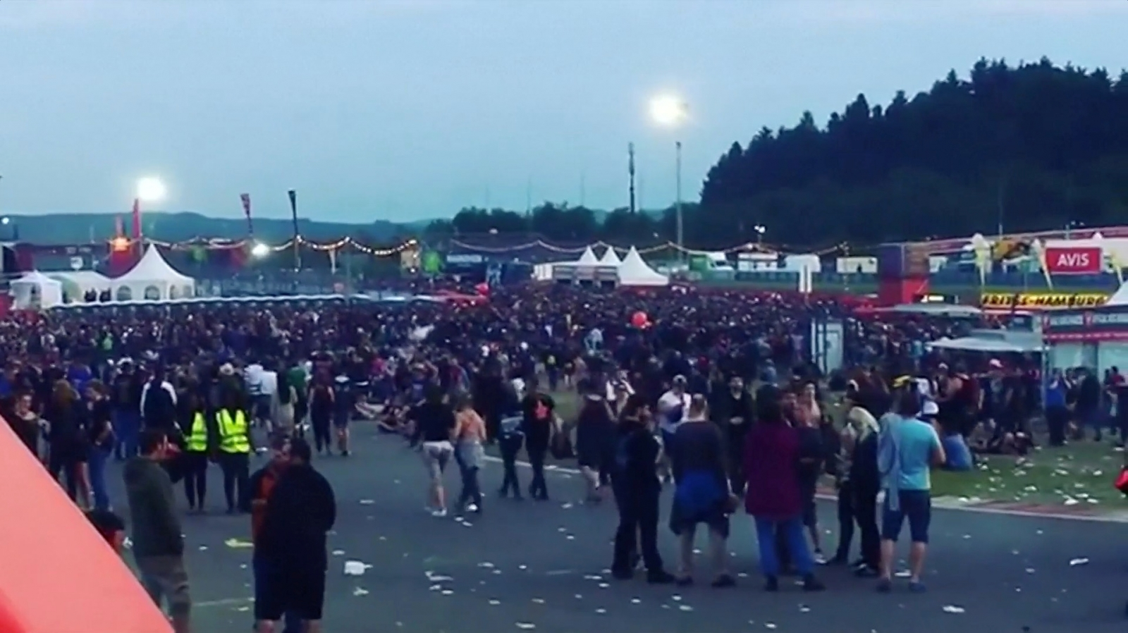 Germany rock festival threat