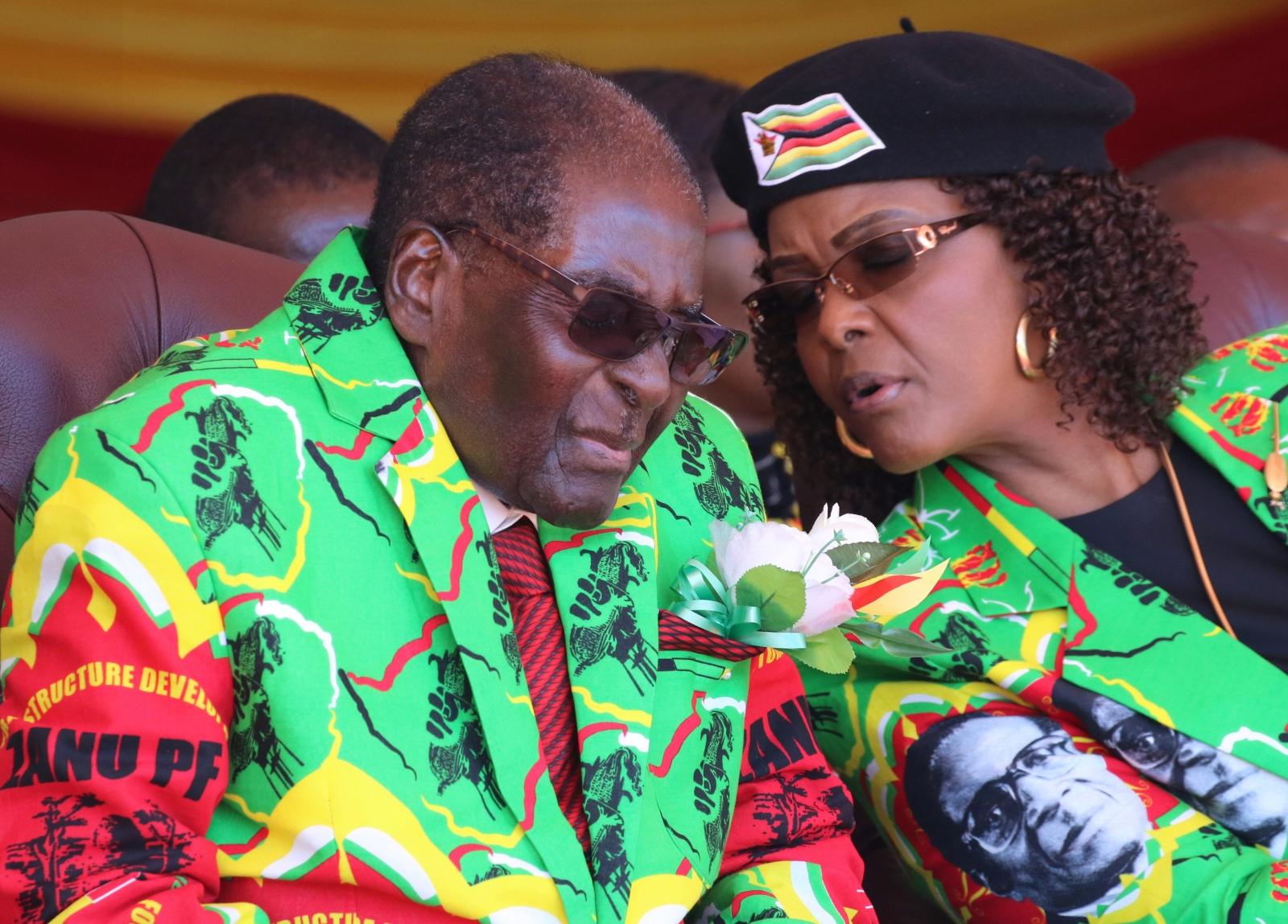 ZImbabwe Robert Mugabe presidential campaign