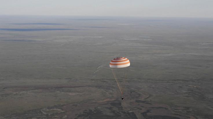 ISS crew landing