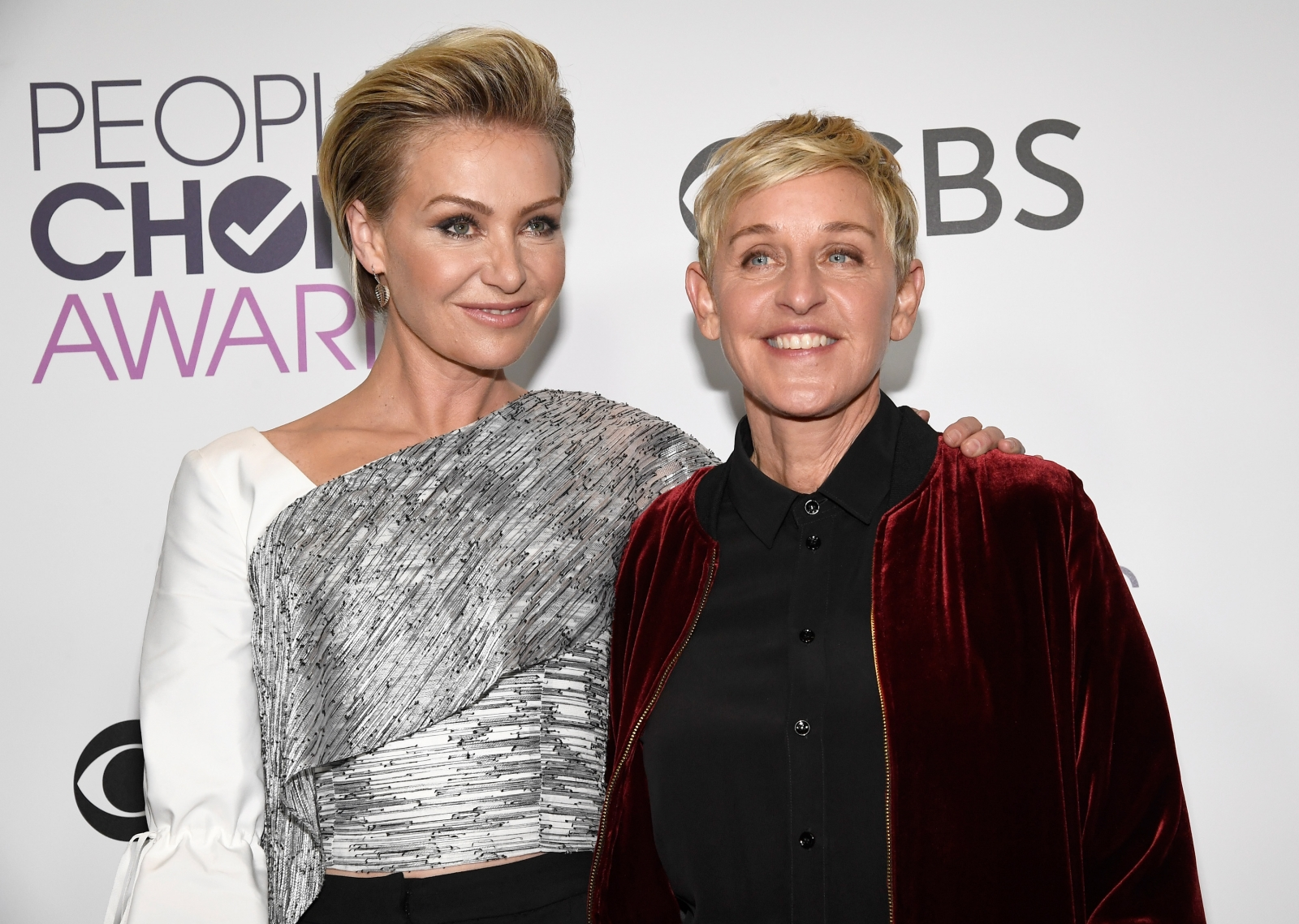 Ellen DeGeneres pictured without wedding ring in Portia de Rossis