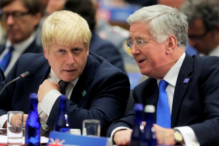 Boris Johnson Michael Fallon