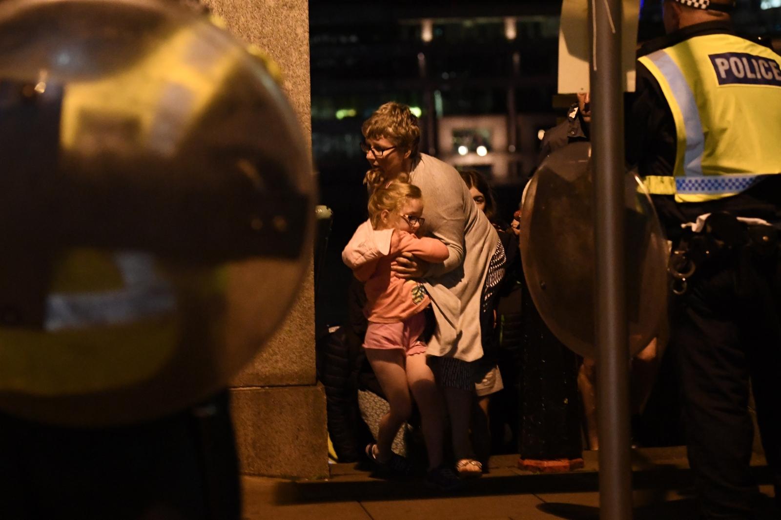 London Bridge and Borough Market terror attacks: Images of ...