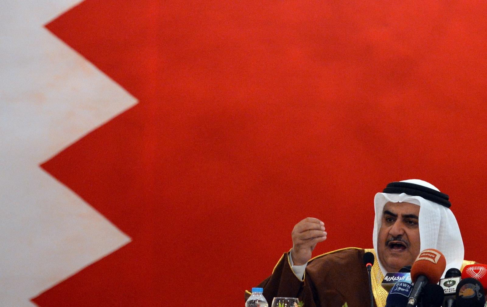 Bahrain foreign minister