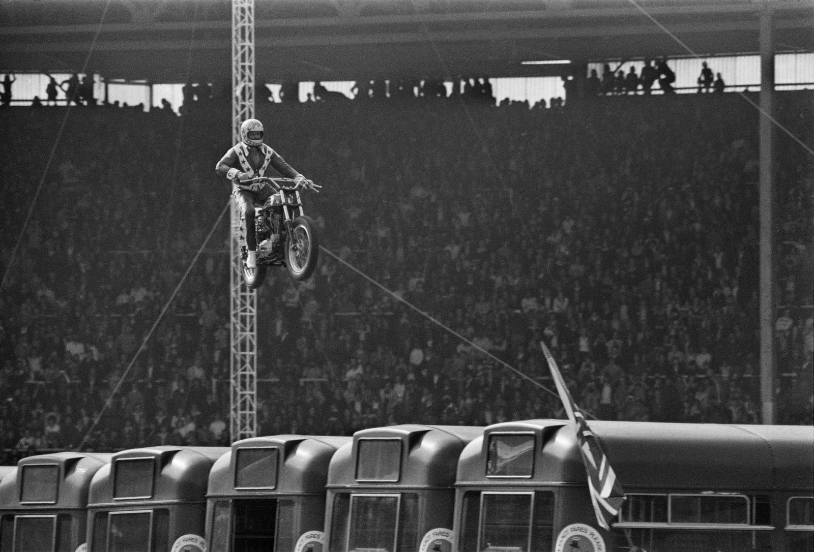 Evel Knievel's Wembley Jump