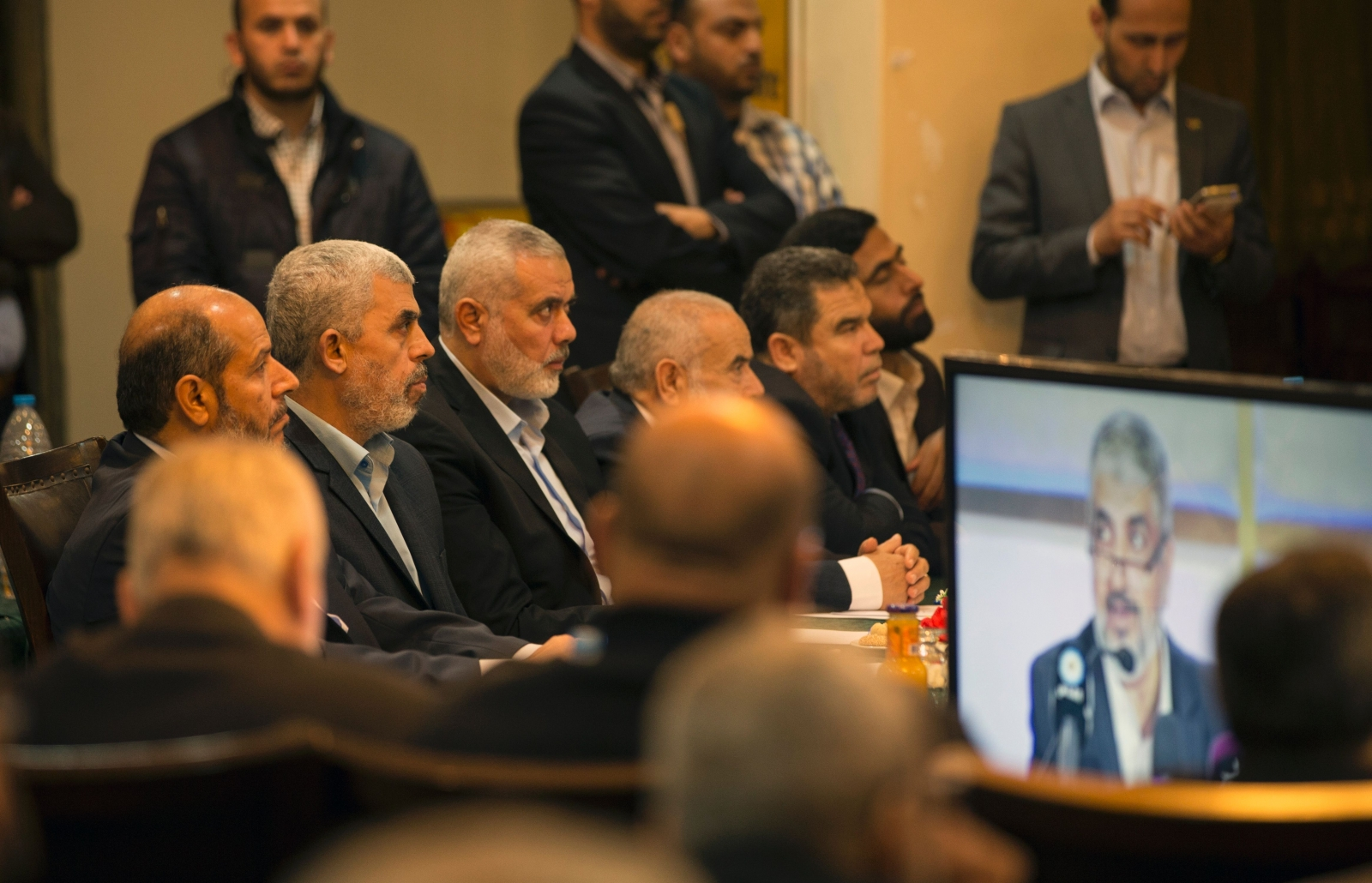 Hamas leader heads to Egypt for rare talks with officials