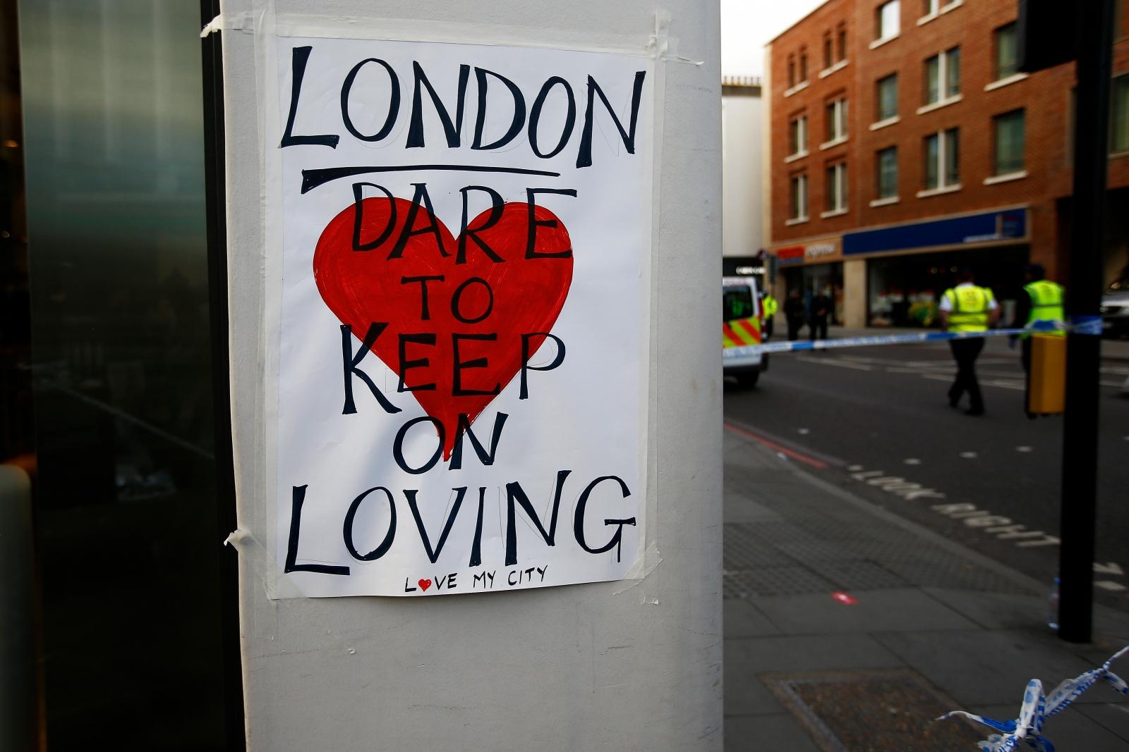 London attack scene