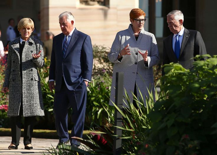 Tillerson and Mattis in Australia