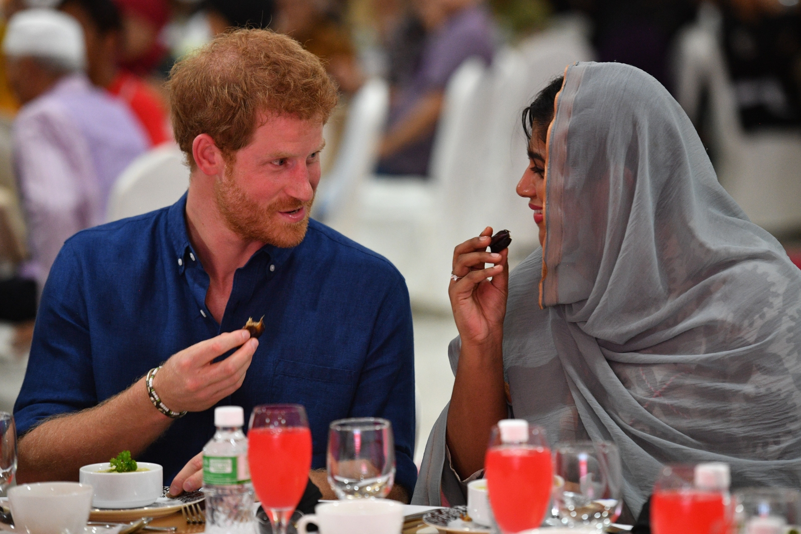 Prince Harry Visits Singapore