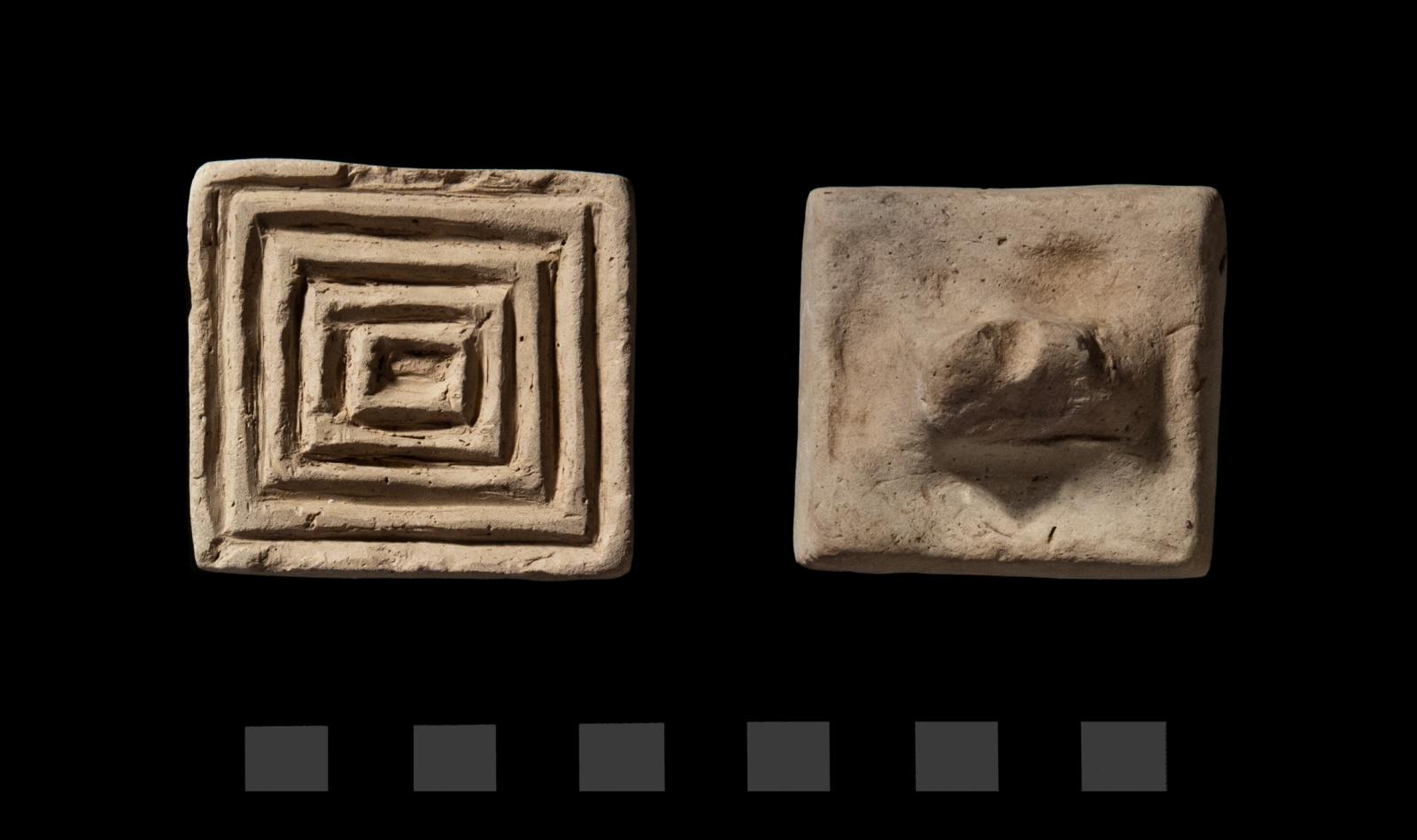 Terracotta stamp