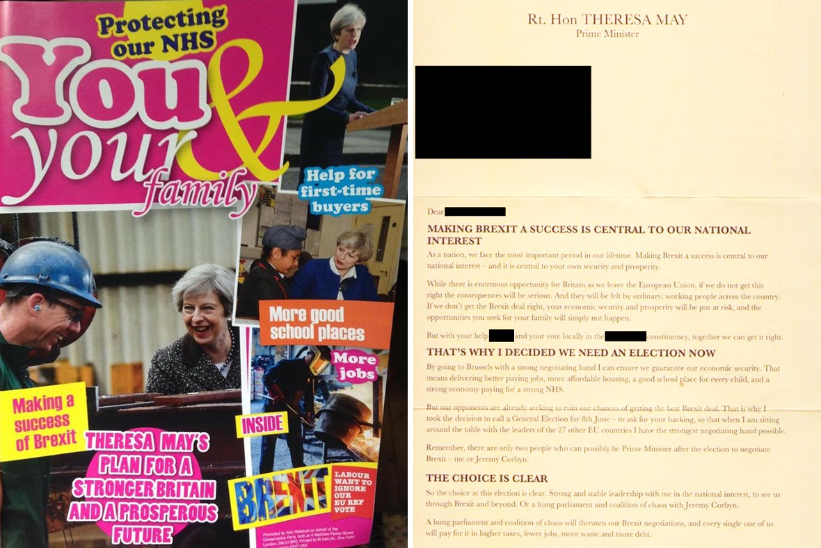 The Conservatives' magazine and letter