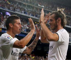 James Rodriguez and Gareth Bale