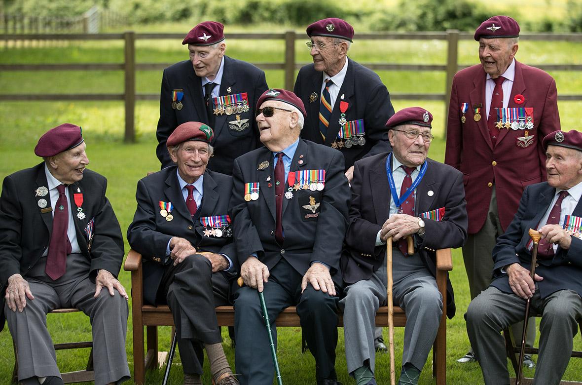 D-Day landings WWII veterans Normandy