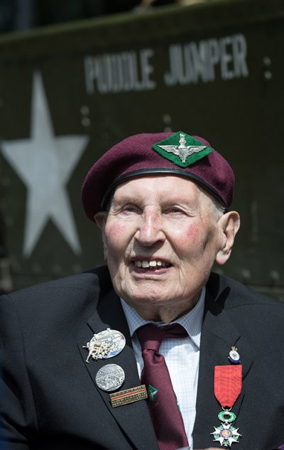 D-Day landings WWII veterans Normandy