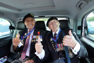 D-Day landings veterans