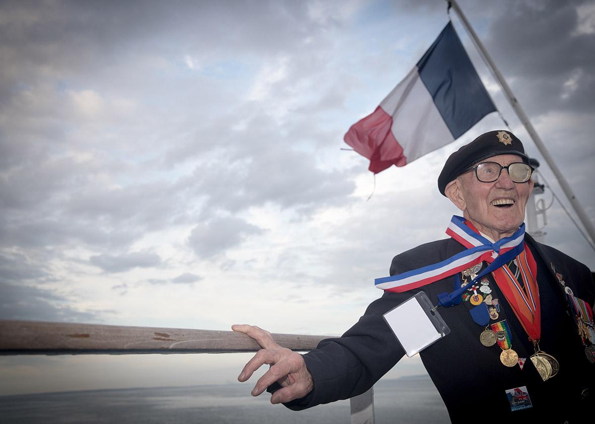 D-Day landings veterans