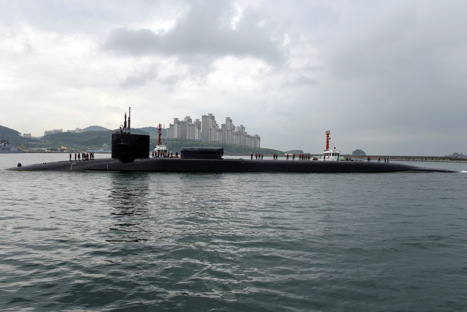 US nuclear-powered submarine North Korea
