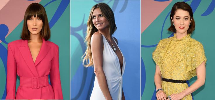 c913dbb96786 CFDA Awards 2017: Bella Hadid, Heidi Klum and Kerry Washington wow ...