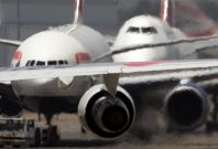 Passengers jump from plane in bomb hoax