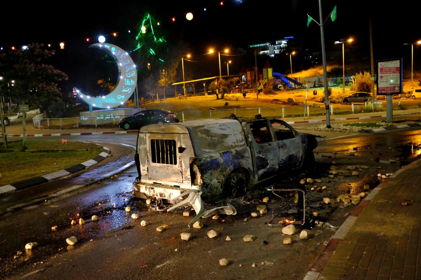 Israel Kafr Qassem riot