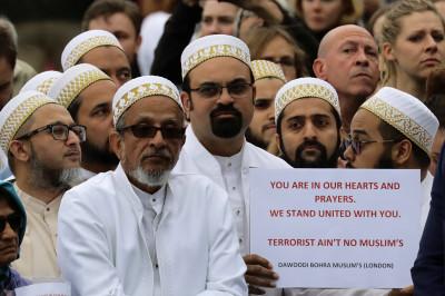 London Bridge Borough Market attack vigil