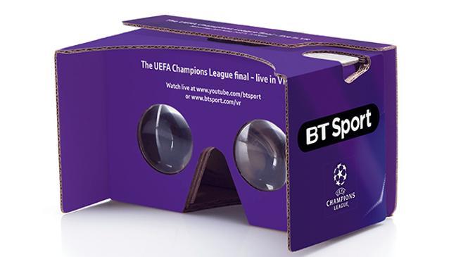 Bt Sport VR headset