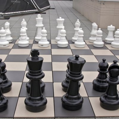 Yandex giant chess set