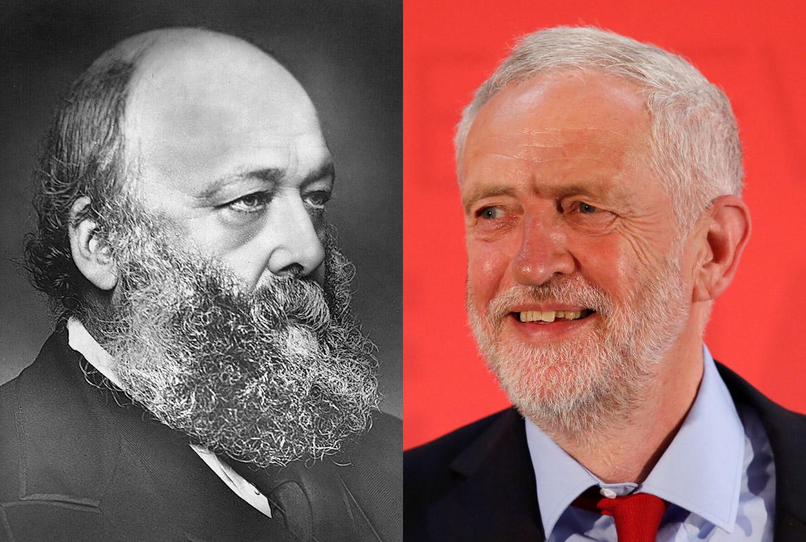 Lord Salisbury Jeremy Corbyn