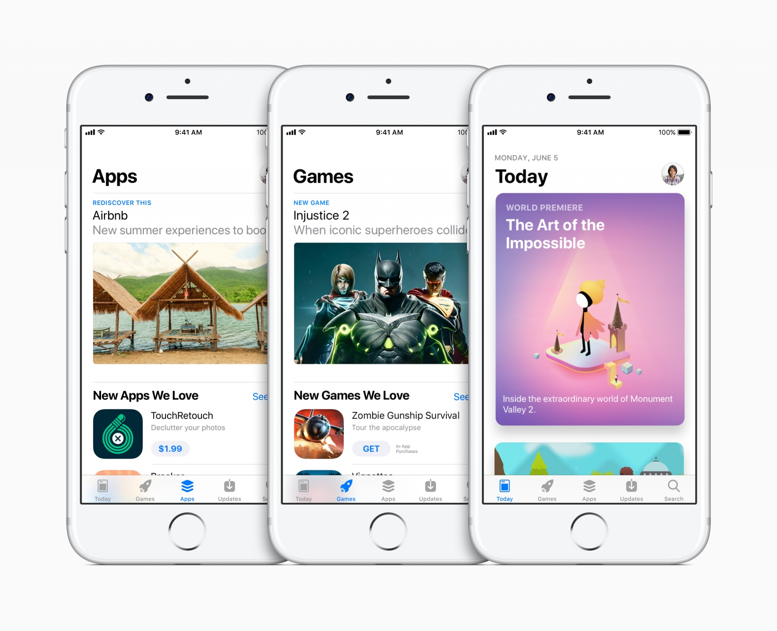 Apple redesigns App Store