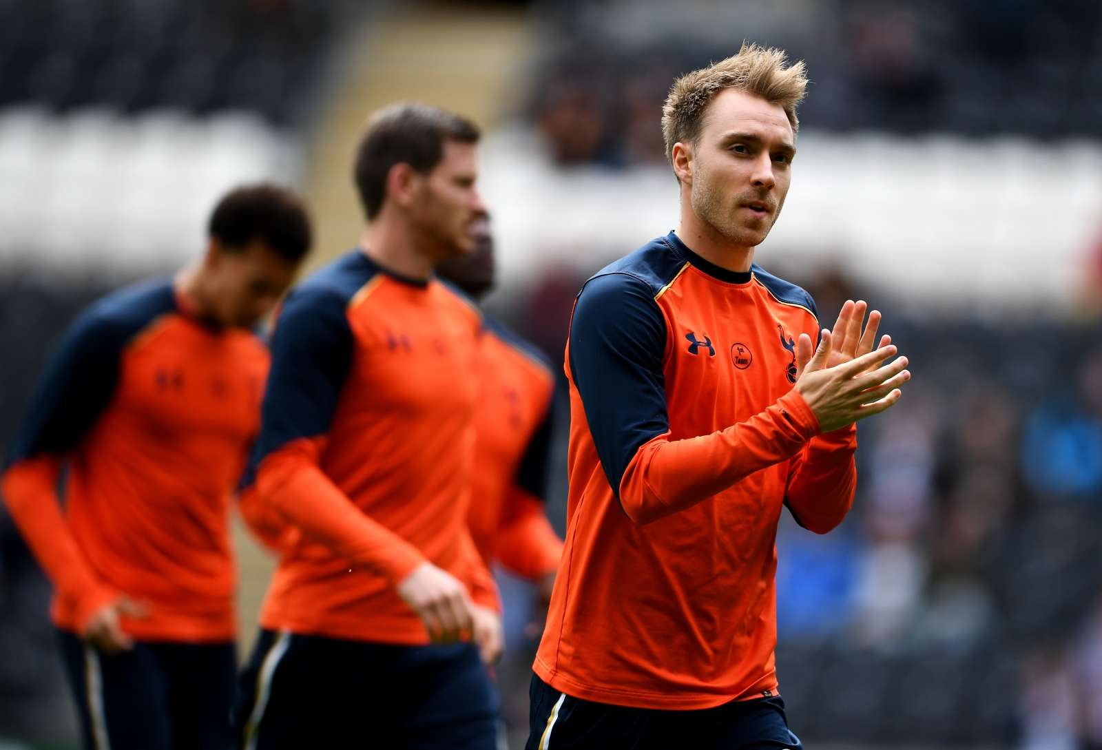 Not many players can say no to Barca, says Eriksen