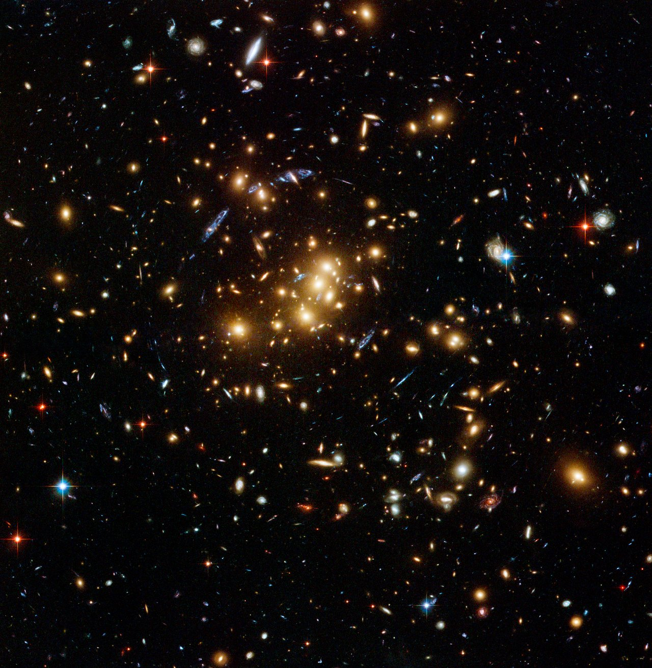 Galaxy cluster