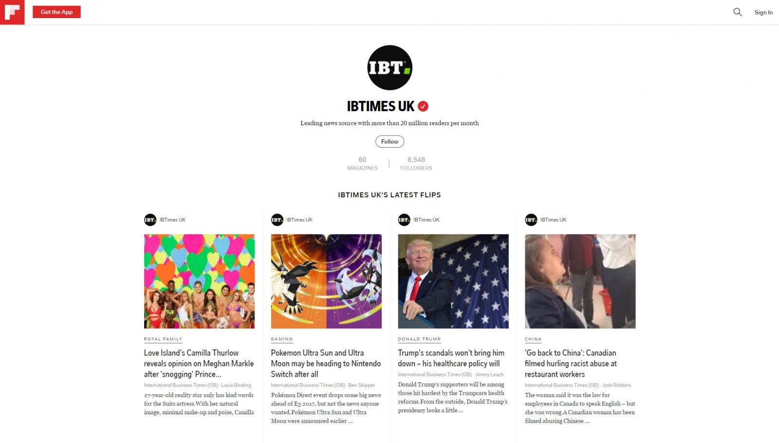 IBTimes UK on Flipboard