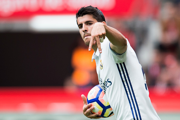 Manchester United increase Morata offer