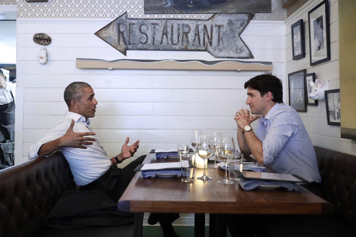 Obama and Trudeau