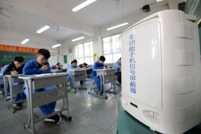 China exam high-tech cheating devices gaokao