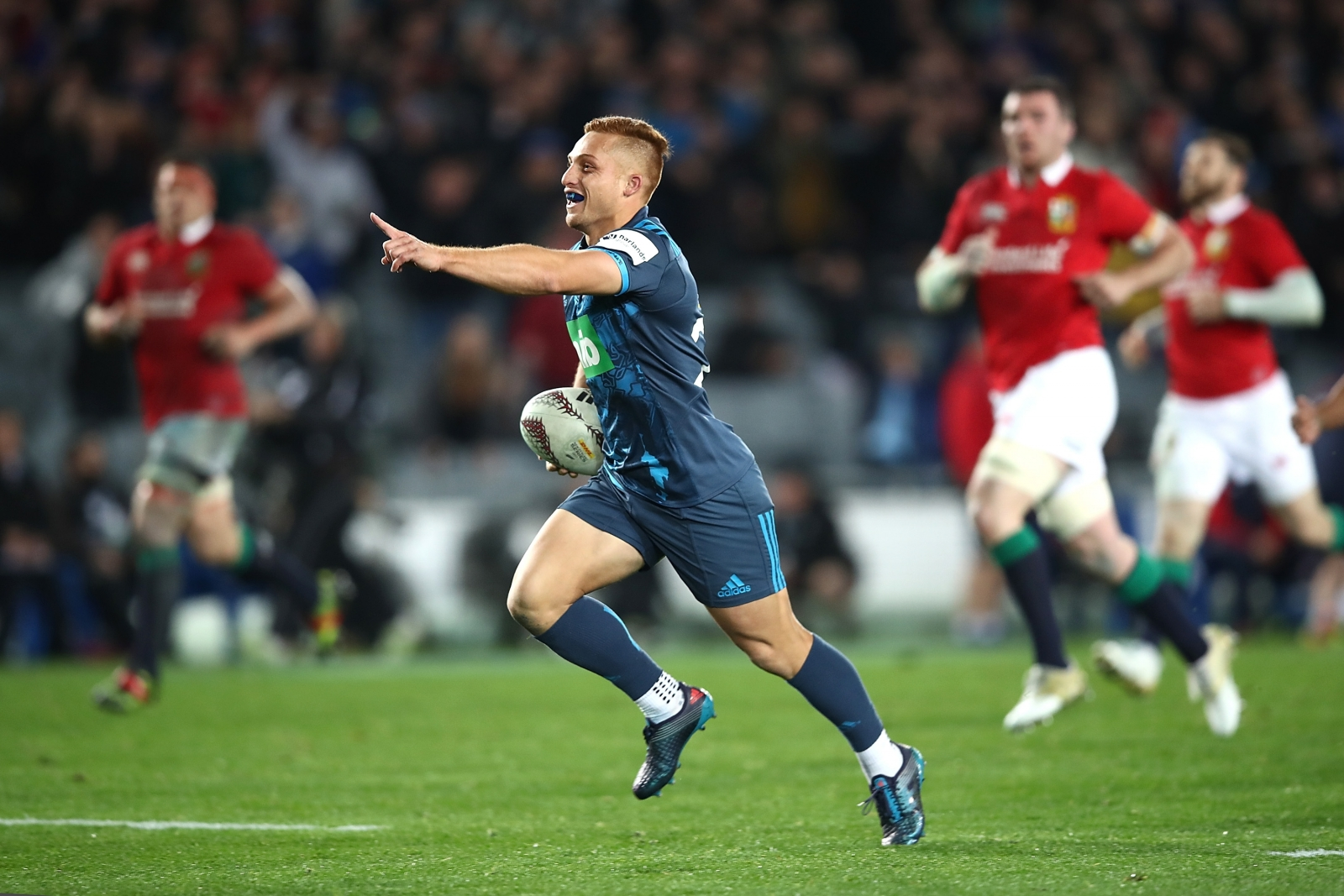 Jones named to captain Lions against Crusaders