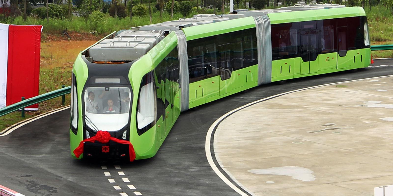 Hybrid train