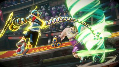 Arms review flurry attack