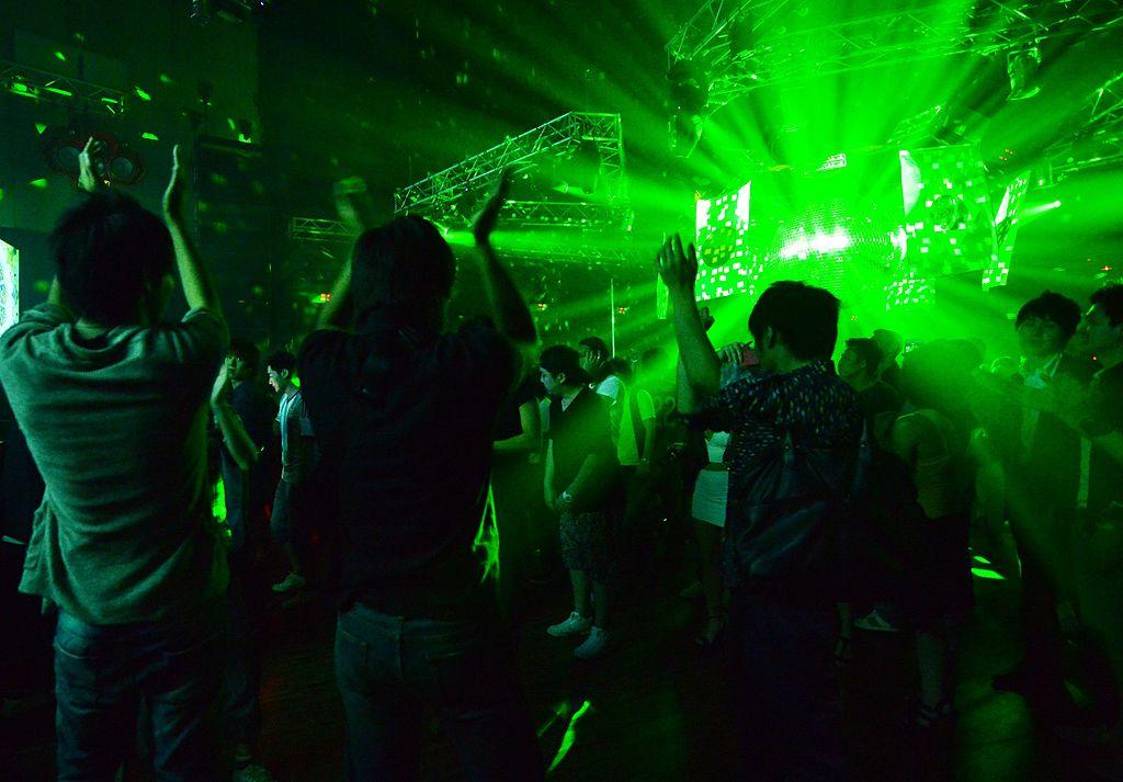 Japan Tokyo nightclub