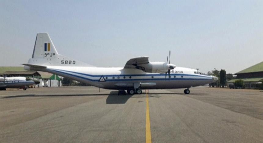 Myanmar military plane