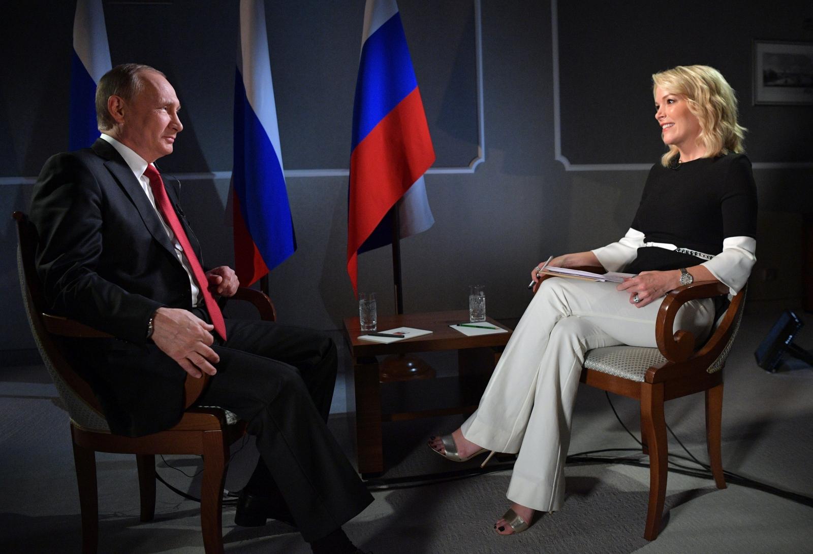 Megyn Kelly Putin