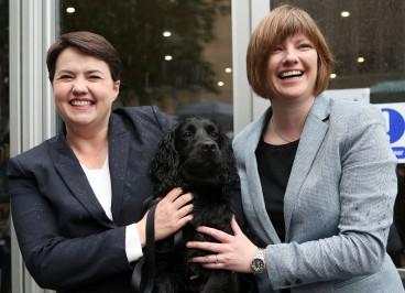 Ruth Davidson voting 2017
