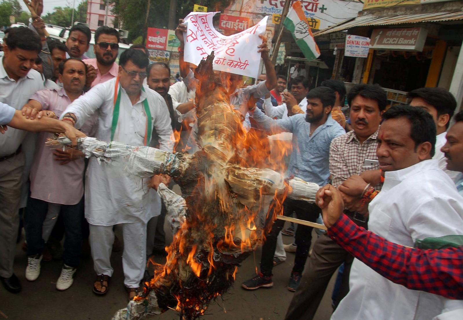 Madhya Pradesh farmers protests
