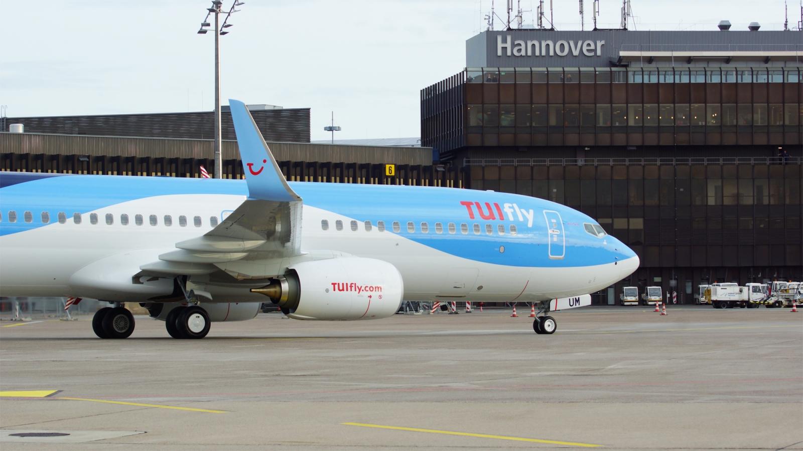 A TUIfly plane