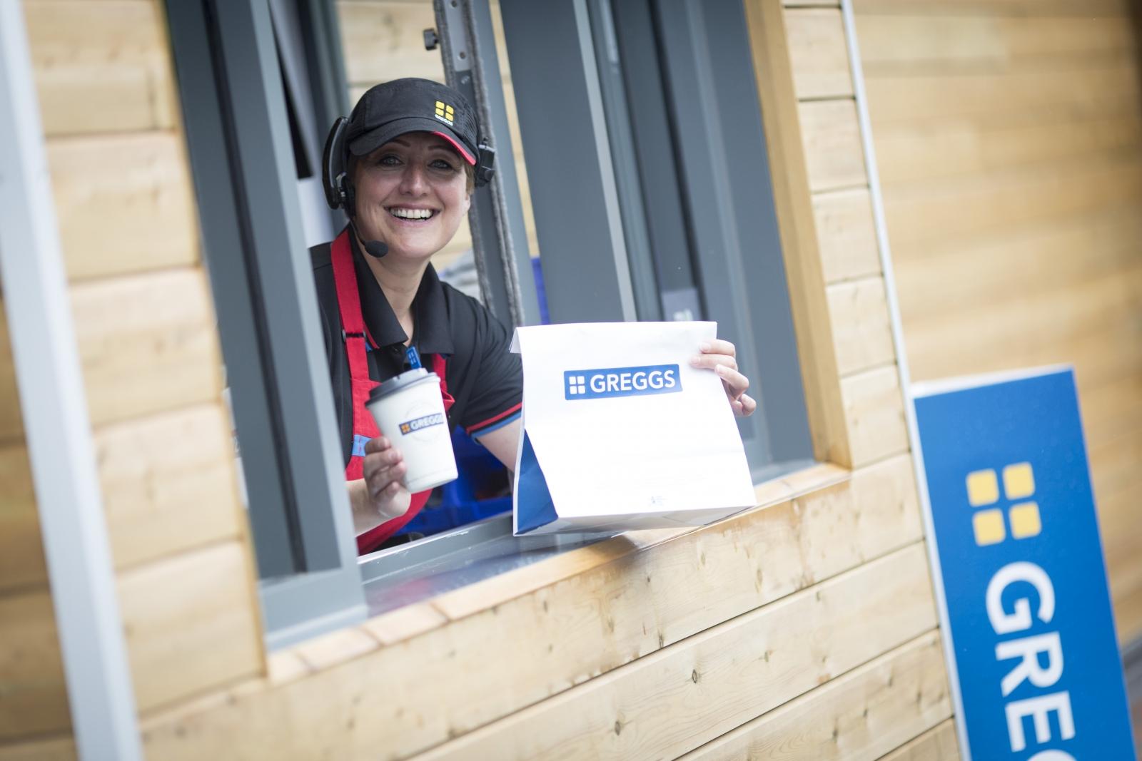 Greggs opens drive-thru bakery