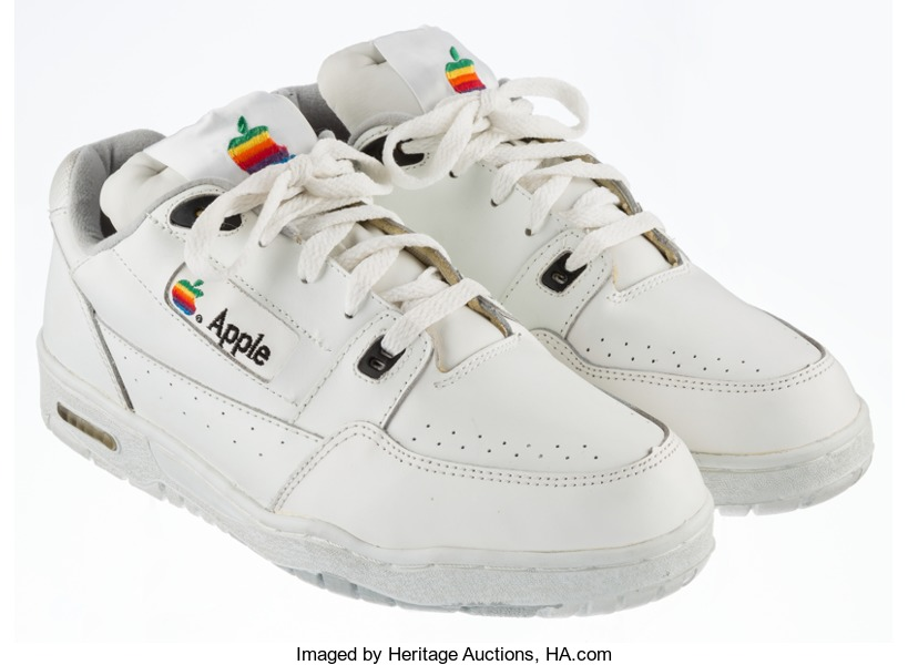 Rare Apple sneakers sell on ebay
