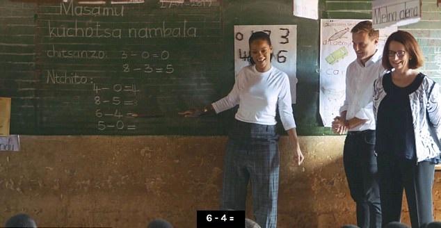 Rihanna in Malawi