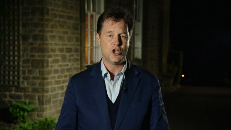 Nick Clegg rules out coaltion with either Conservatives or Labour