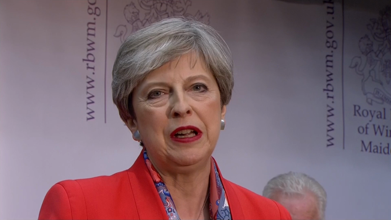 Theresa May accused of being in denial as she delivers defiant speech after election